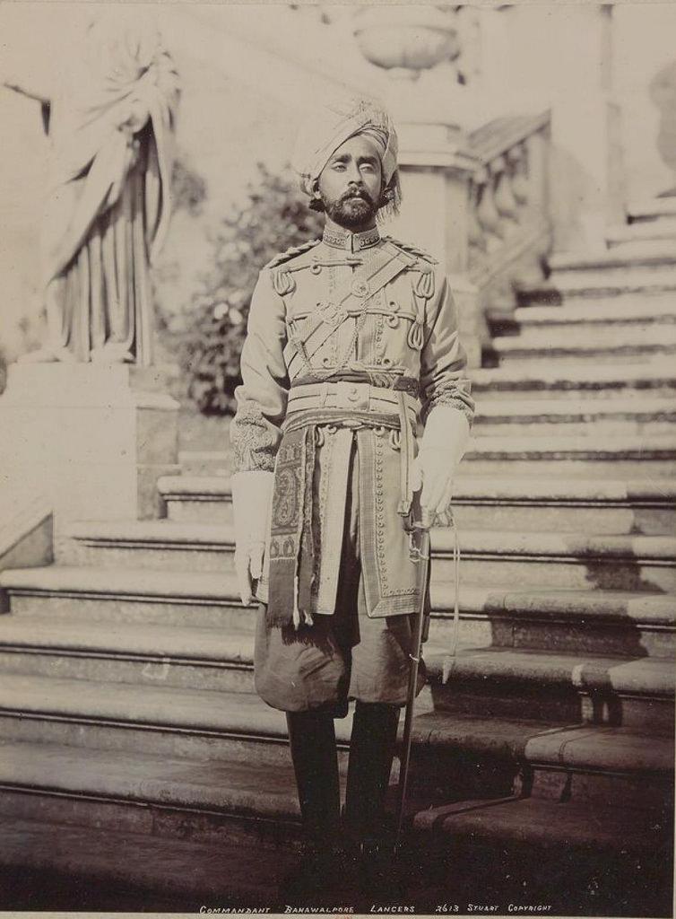 24. Начальник бахавалпурских улан
