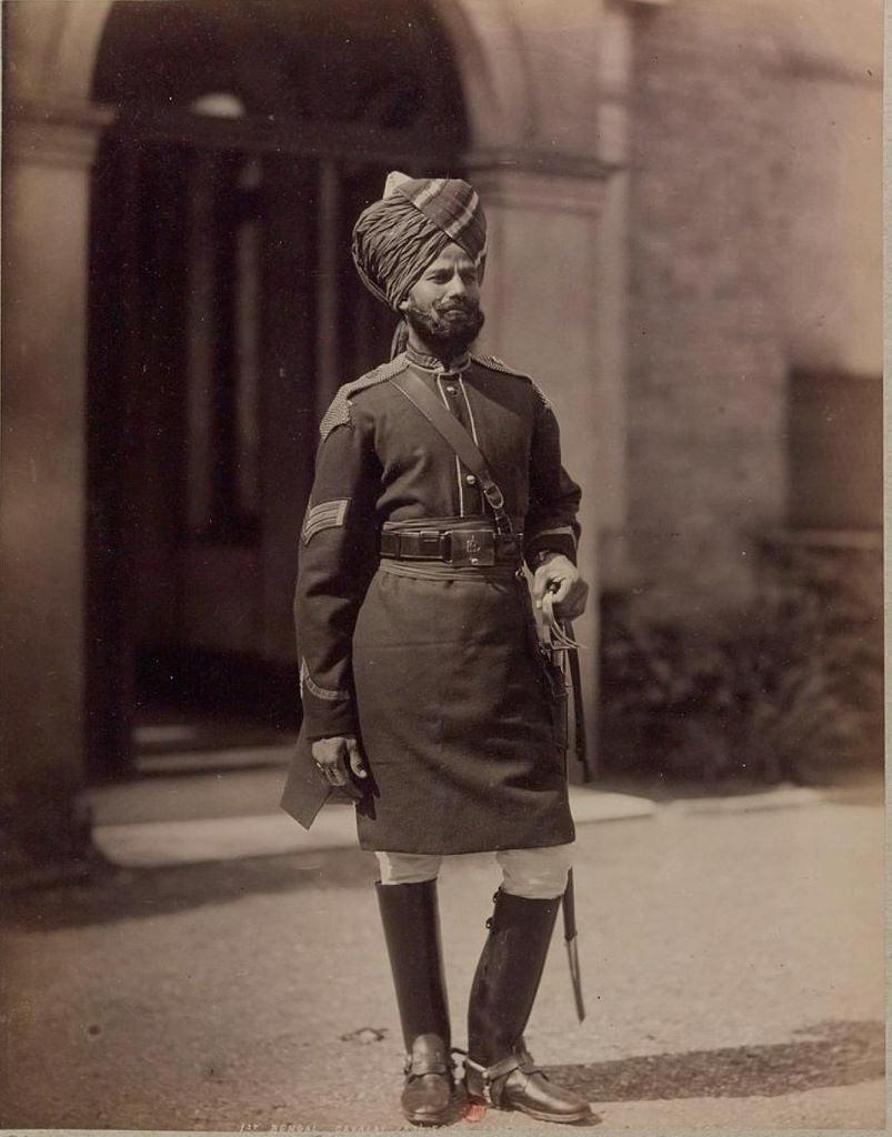 27. Офицер 1-го полка Бенгальской кавалерии