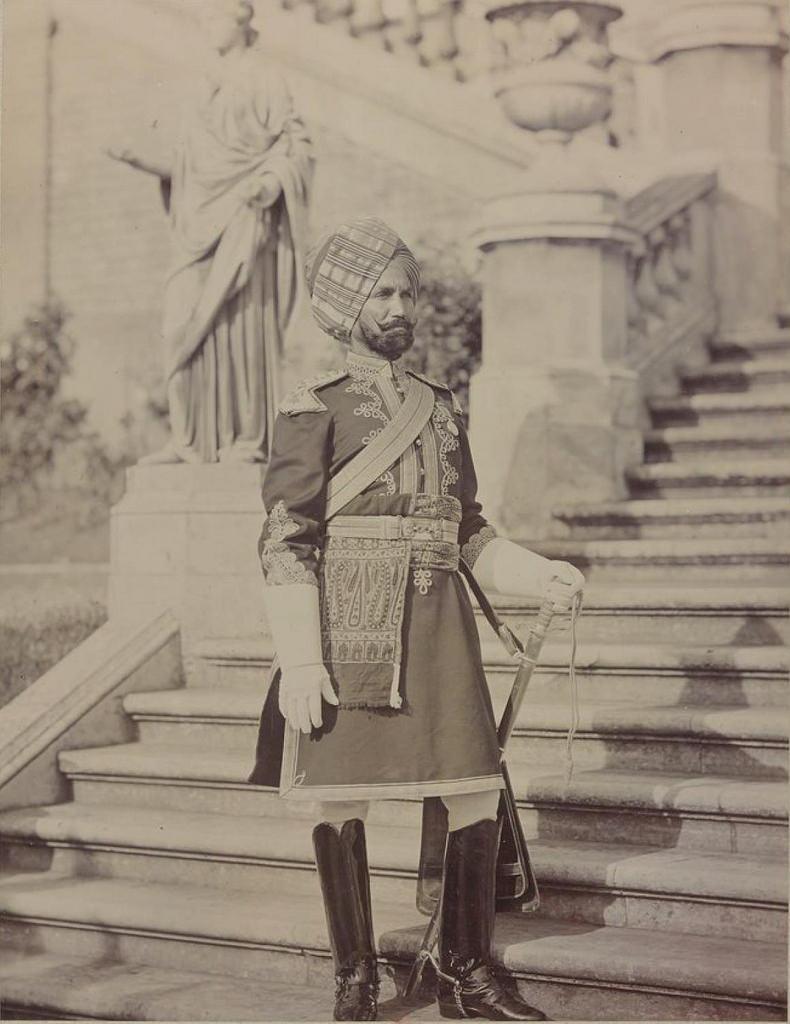 28. Офицер Индийской кавалерии