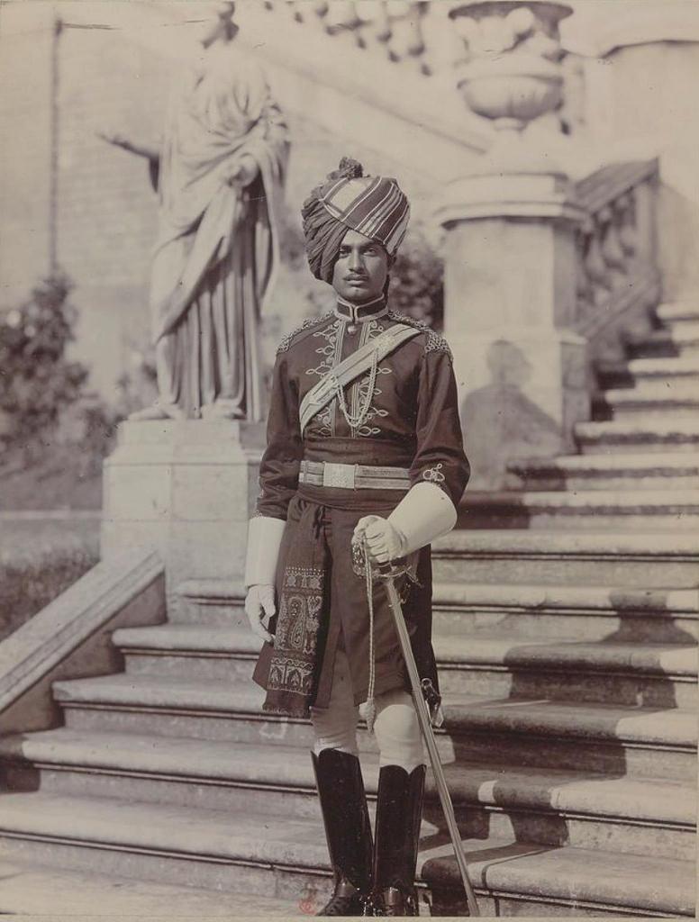 29. Офицер Индийской кавалерии