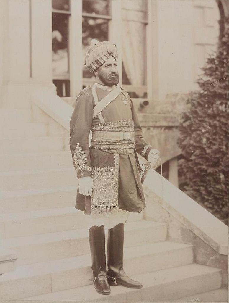 30. Офицер Индийской кавалерии