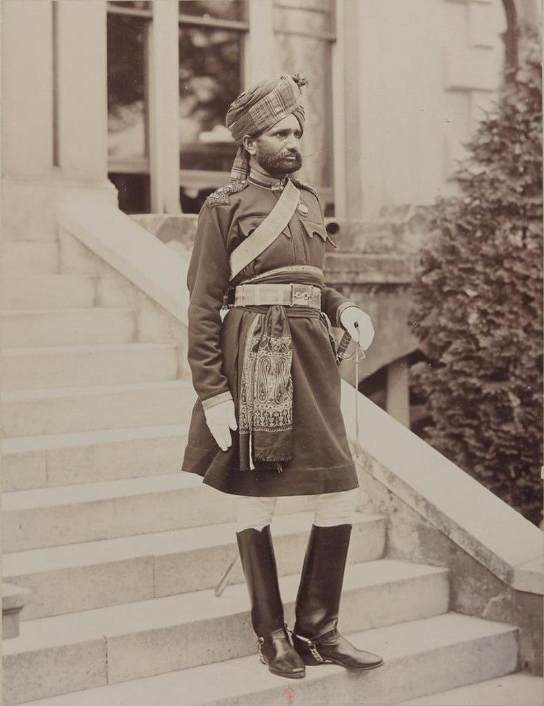 31. Офицер Индийской кавалерии