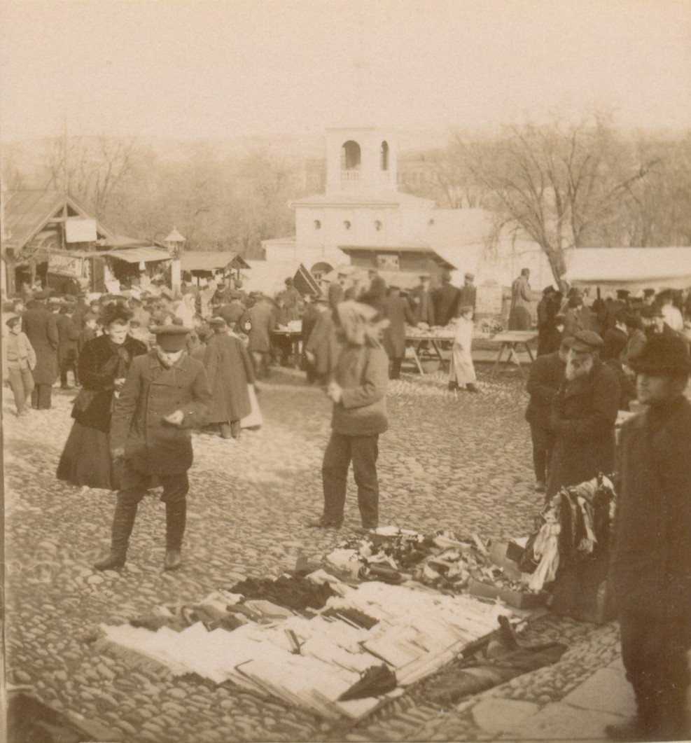 Воскресный Солдатский базар