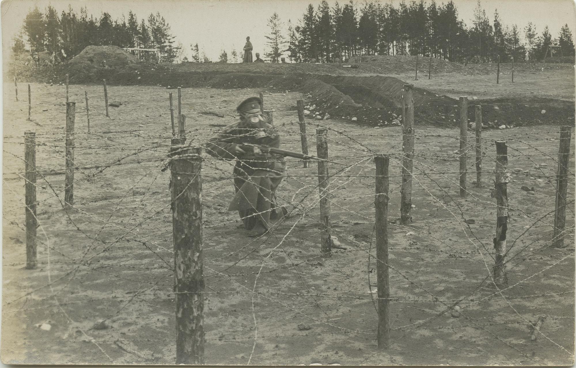 1915. Сквозь стальную паутину