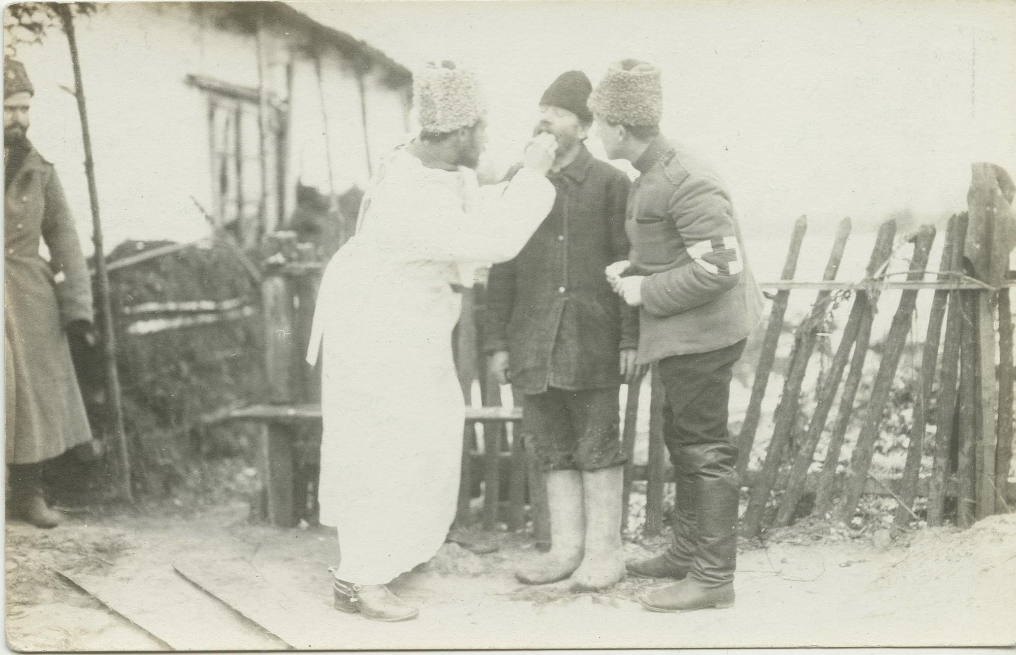 1915. Медицинская помощь мирному населению. 26 января