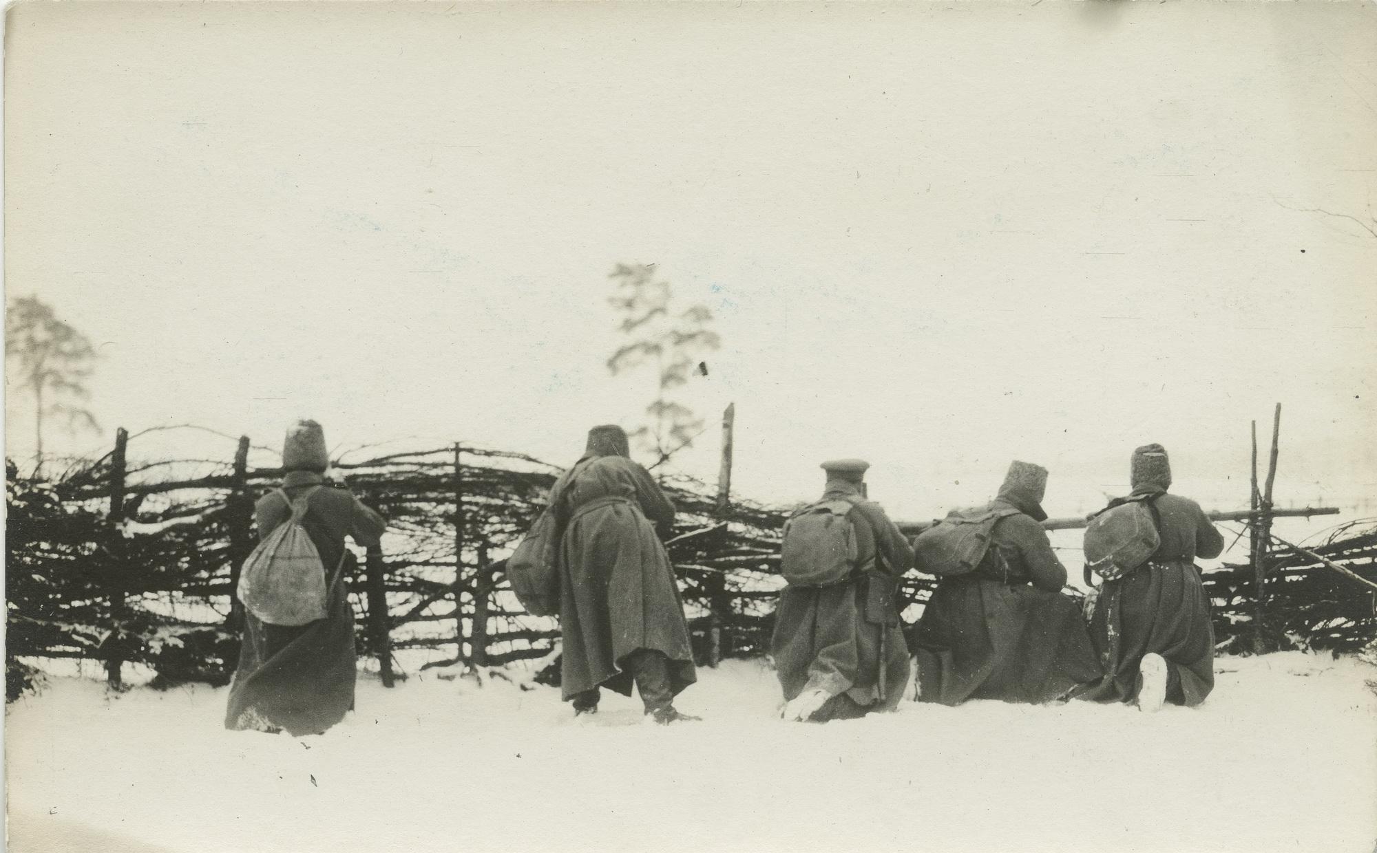 1915. Оборона предместья г. Просныш