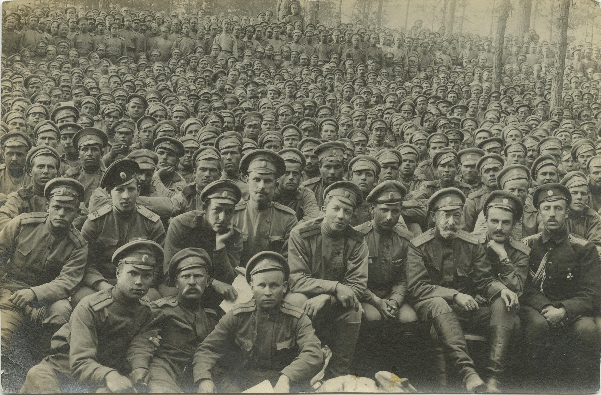1916. На спектакле полкового театра. 29.06.