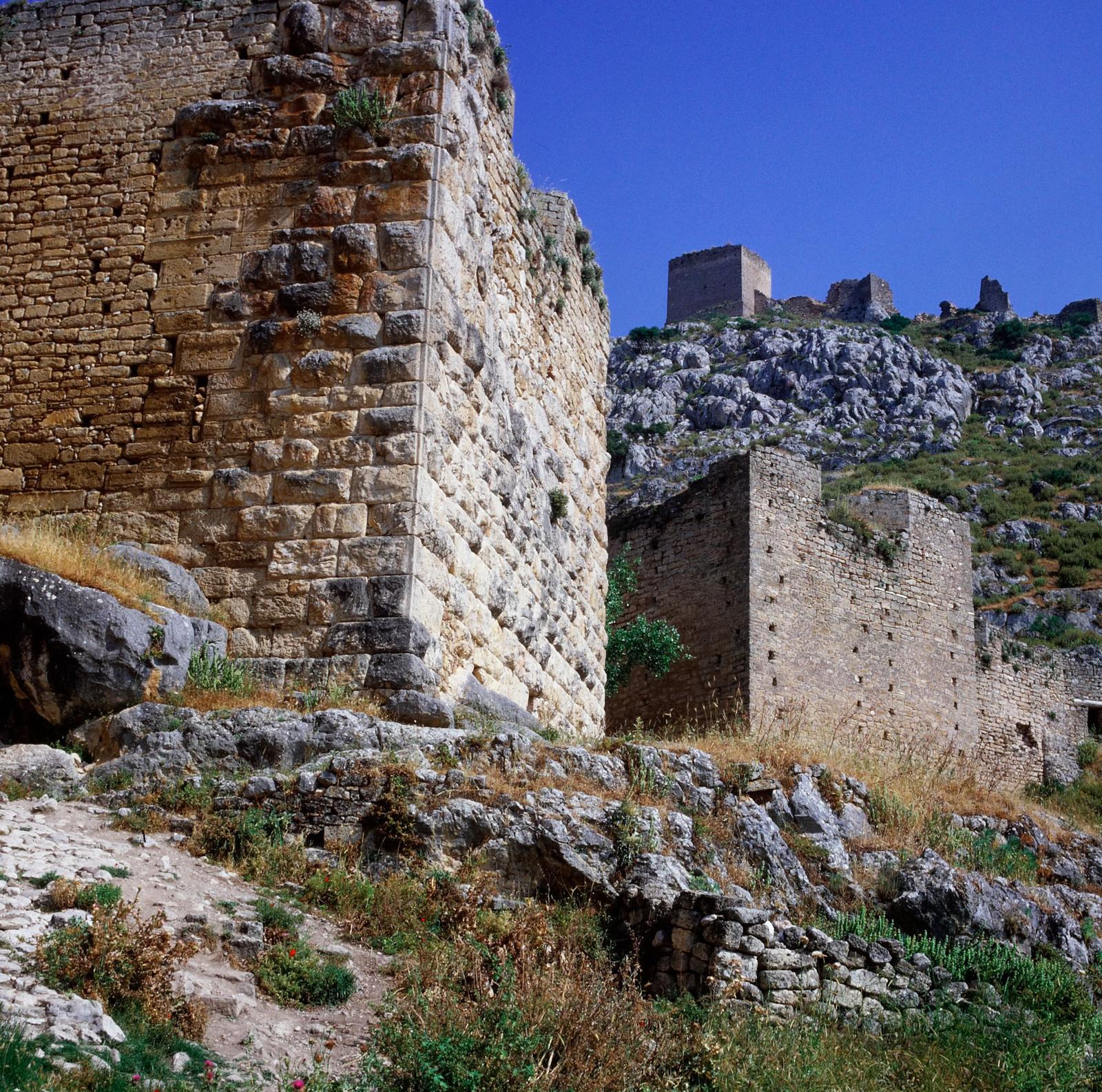 Коринф. Крепость Акрокорниф1