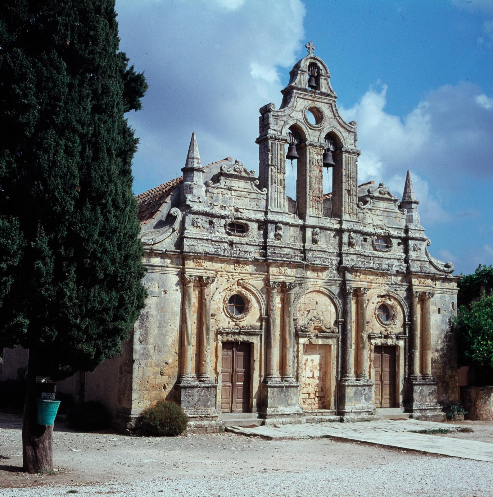 Крит. Монастырь Аркади