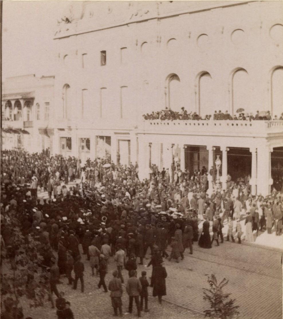 Манифестация 22 октября 1905 года.