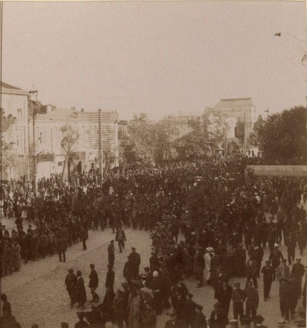 Манифестация 22 октября 1905 года
