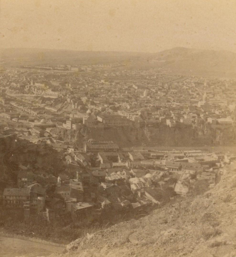 Метехский замок и предм. «Авлабар»
