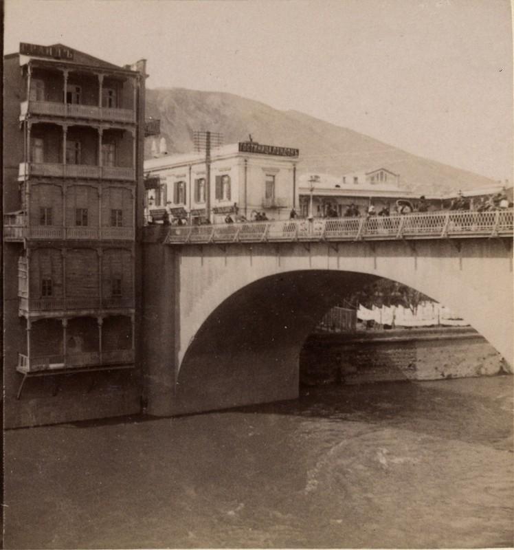 Николаевский мост и гостиница «Гранд отель»