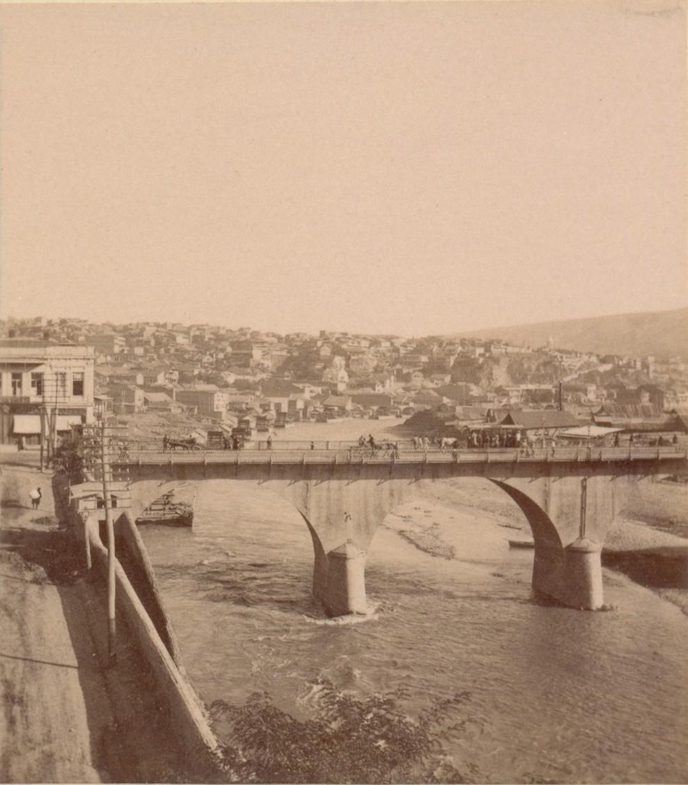 Николаевский мост с Воронцовской набережной