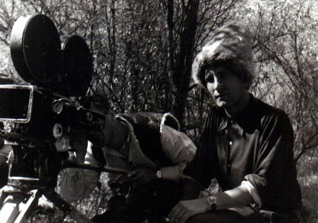 1949. На съёмках фильма «Пржевальский»