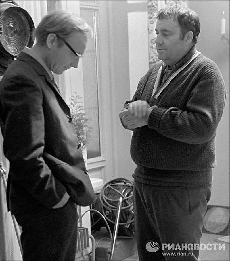 1977. «Служебный роман». Эльдар Рязанов и Андрей Мягков