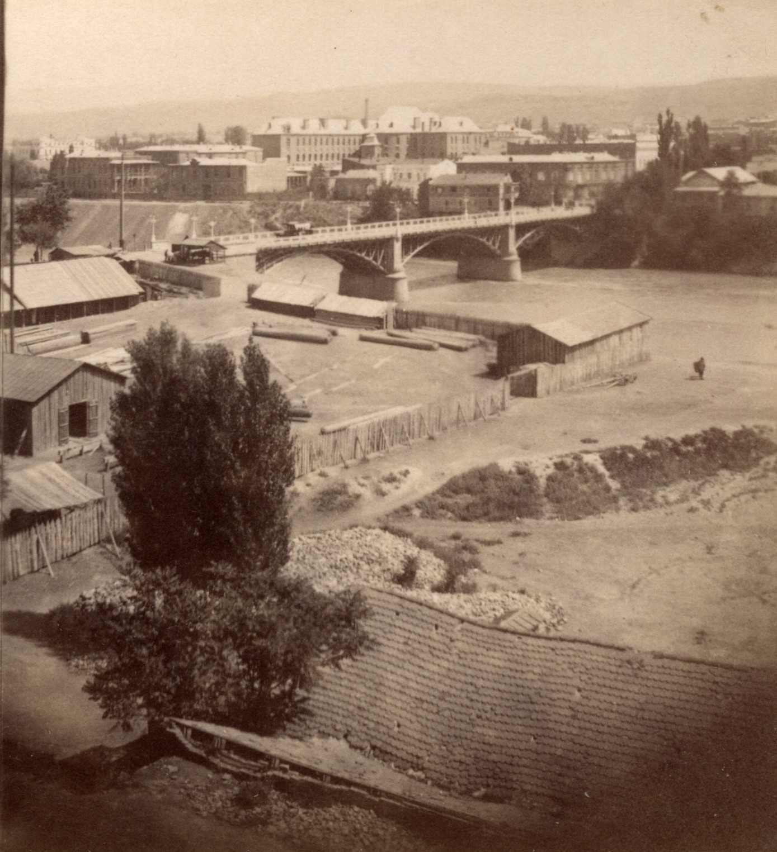 Верийский мост и III классическая гимназия