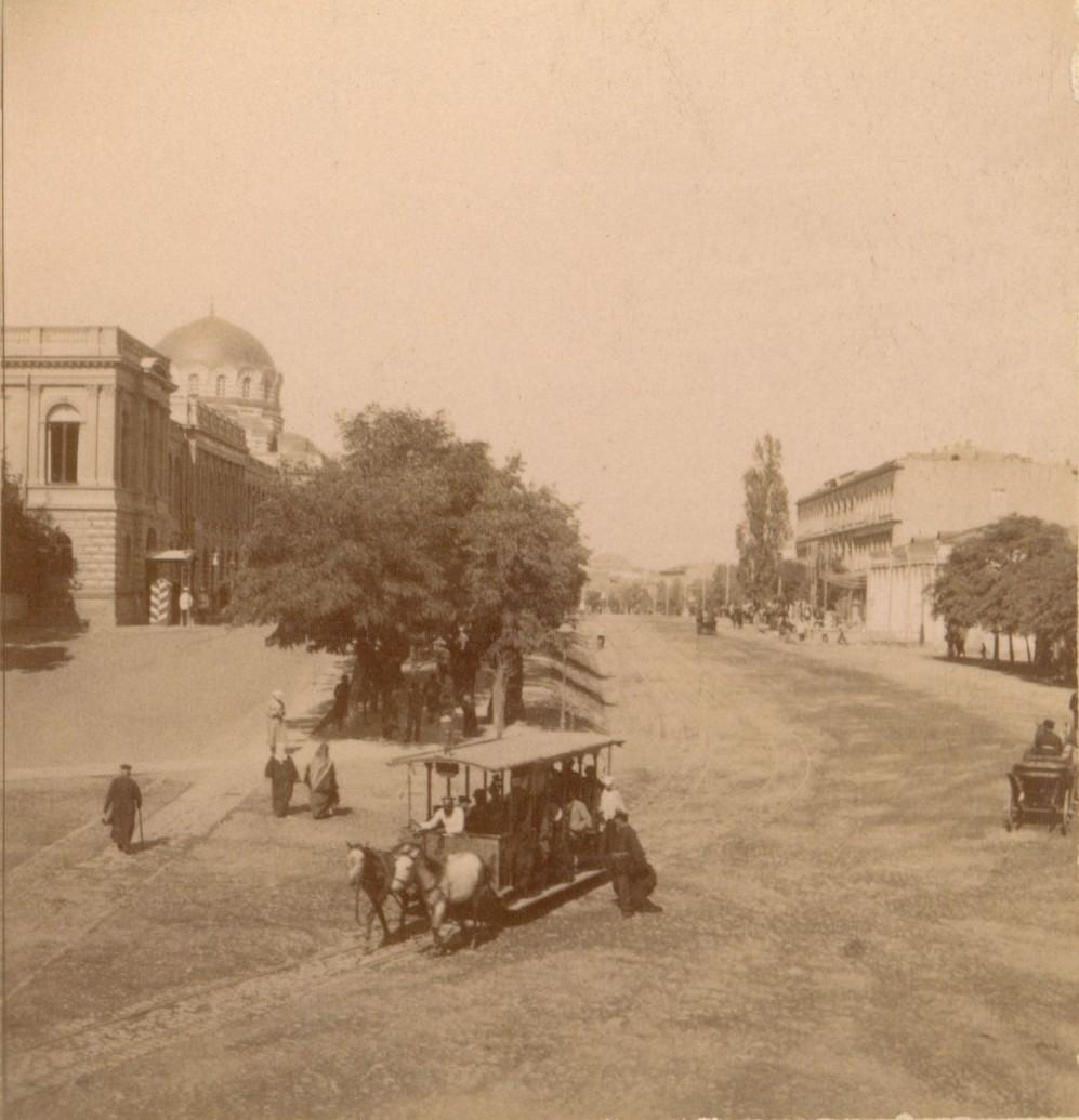 Головинский проспект. Дворец, Собор и гостиница «Ориант»
