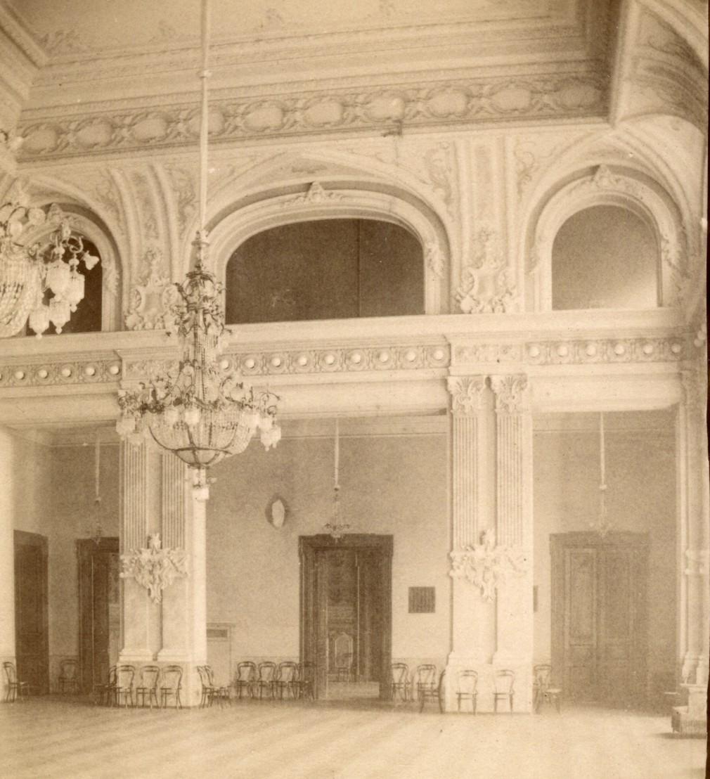 Здание Тифлисского артистического общества. Концертный зал