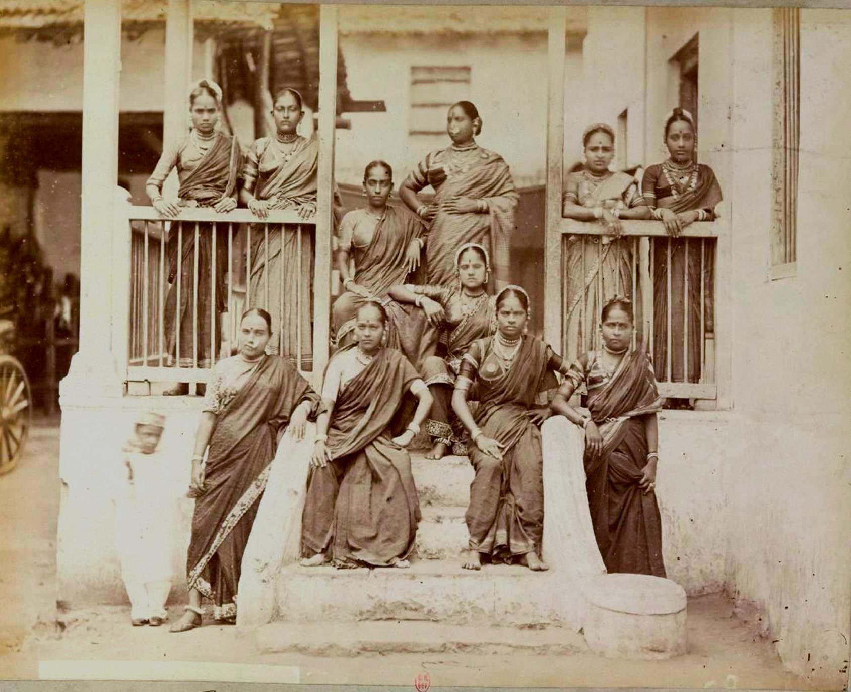 Индийские женщины. Бомбей
