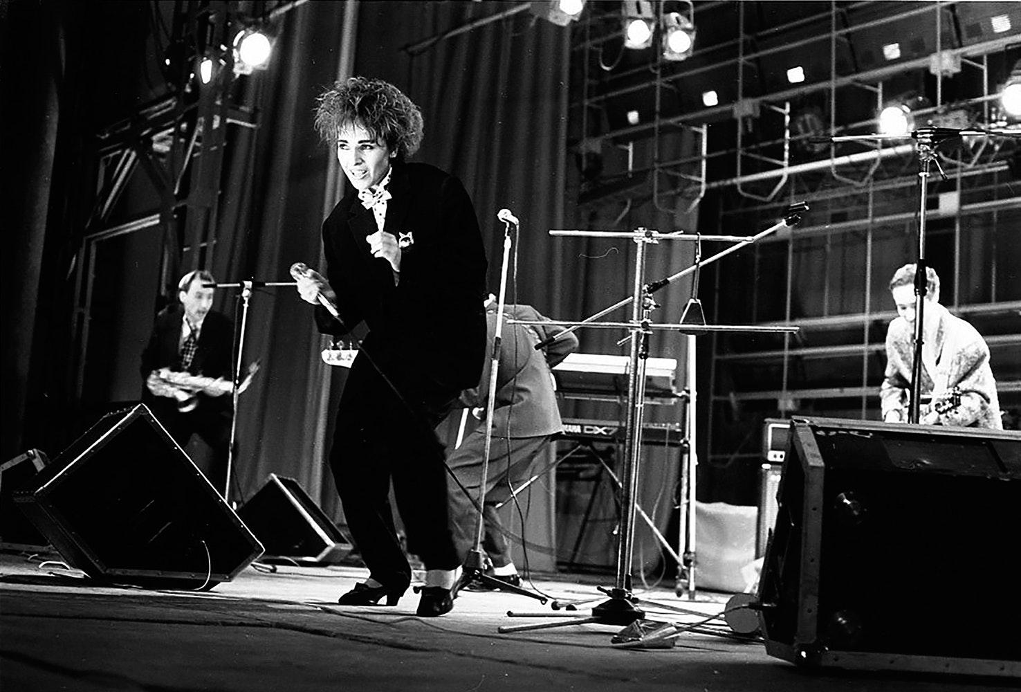 1988. Андрей Безукладников. Концерт группы «Браво»