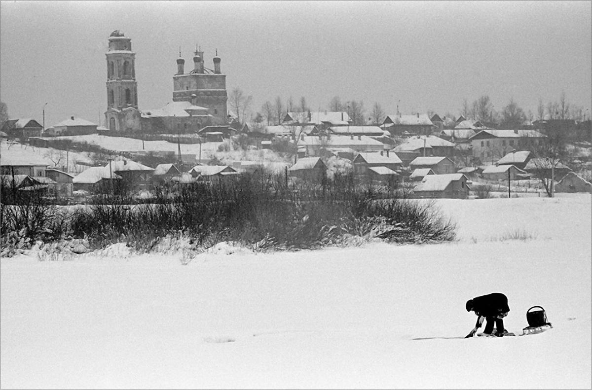 1986. Полоскание белья. Боровск