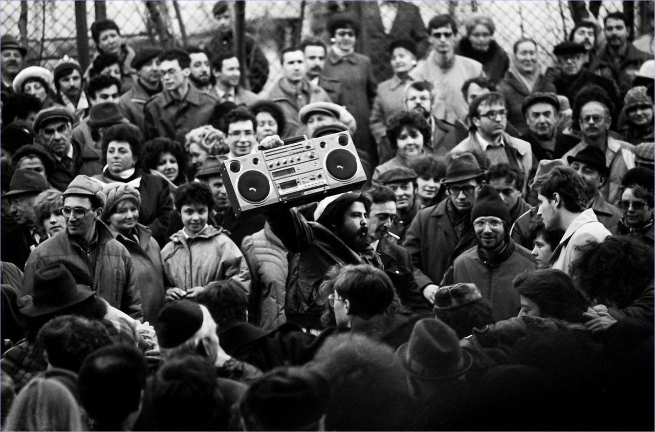 1986. Праздник Песах у стен Московской хоральной синагоги