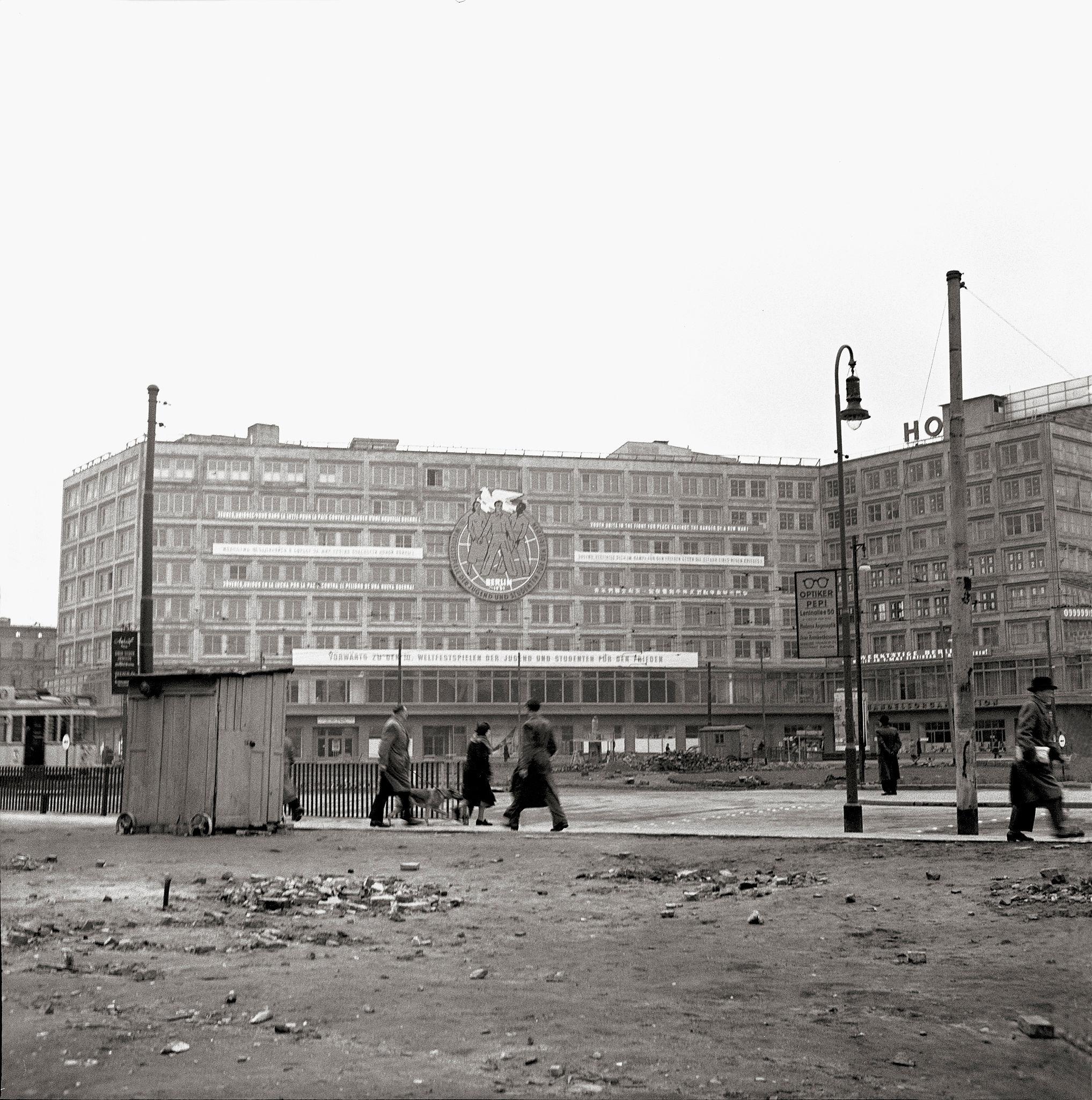 1947. Александерплац. Александерхаус