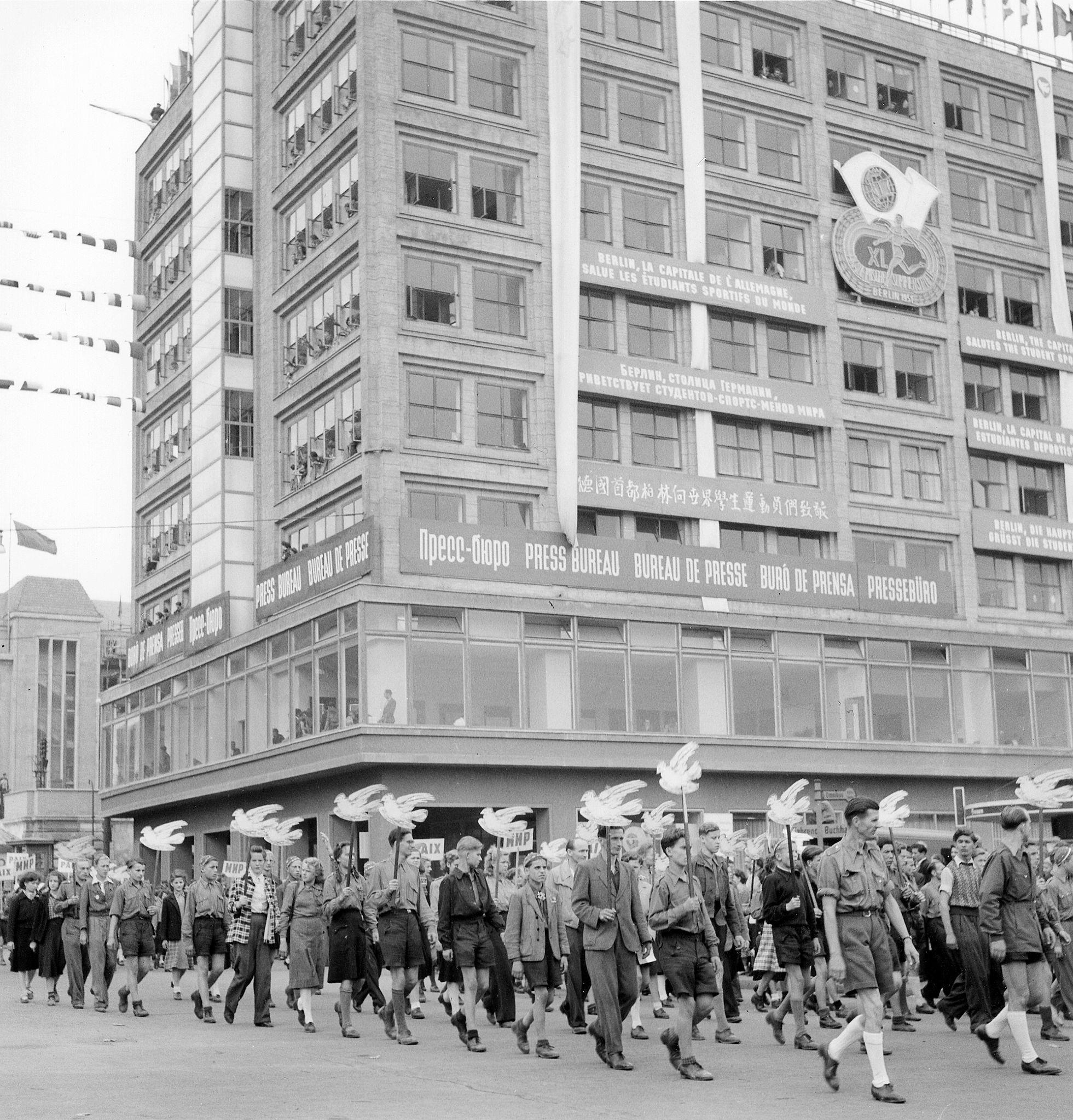1951. Демонстрация на Александрплац