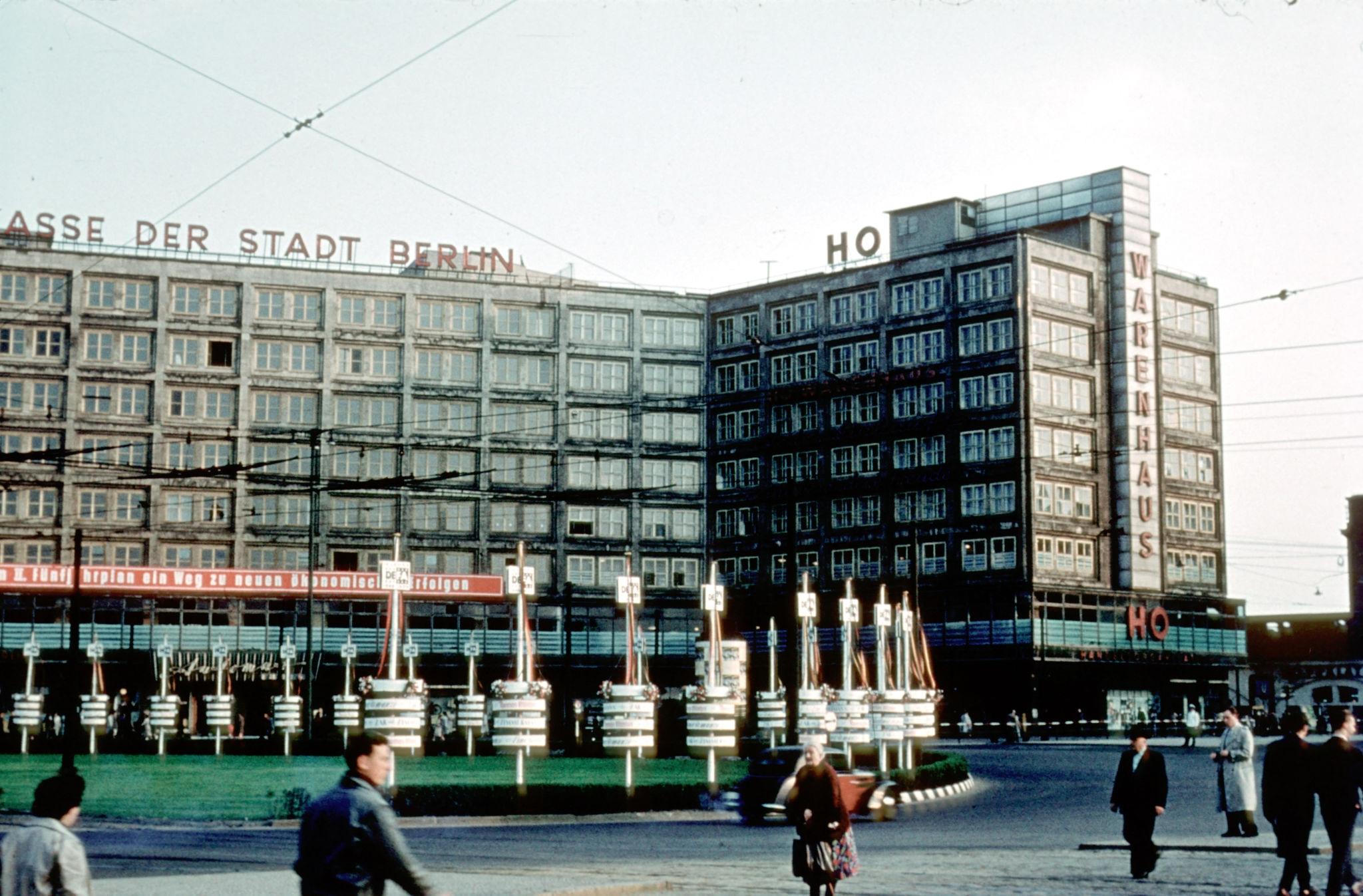 1954. Александерплац.