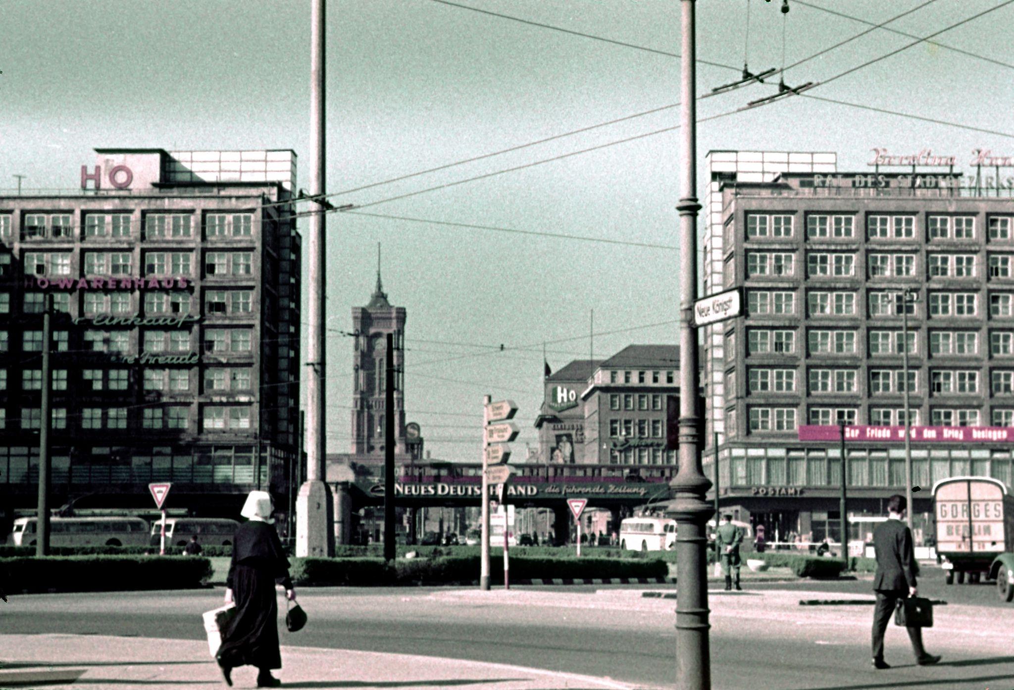 1954. Александерплац