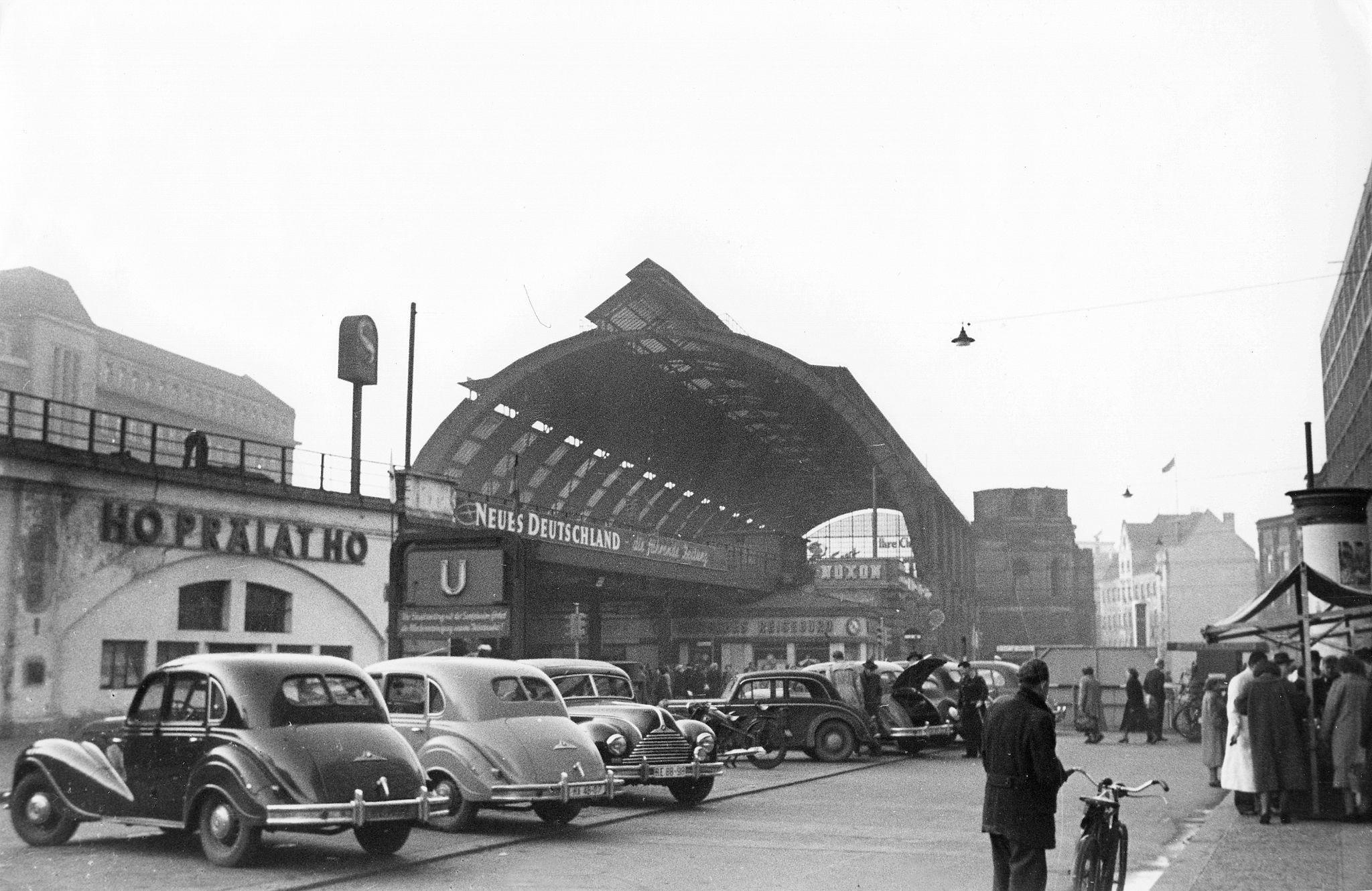 1955. Станция Берлин-Александерплац