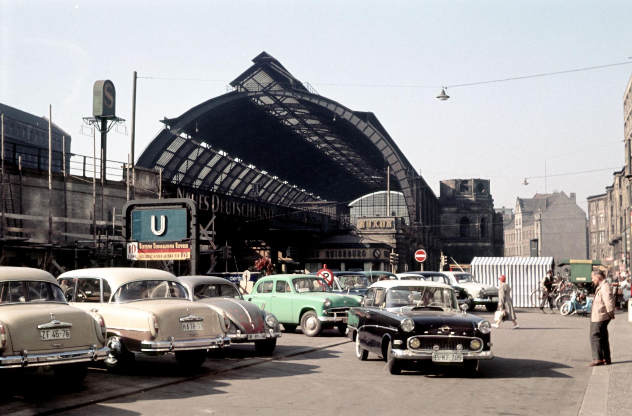 1959. Станция Берлин-Александерплац.