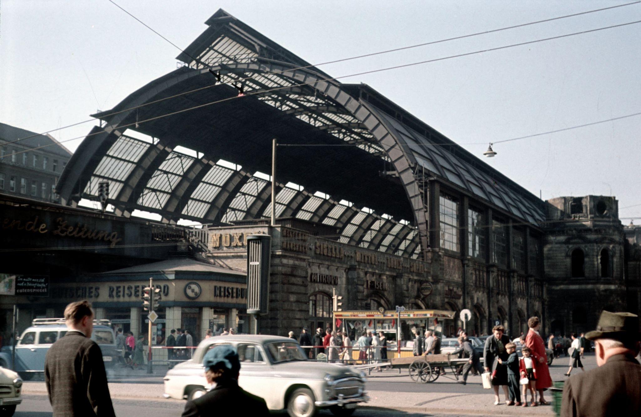 1959. Станция Берлин-Александерплац