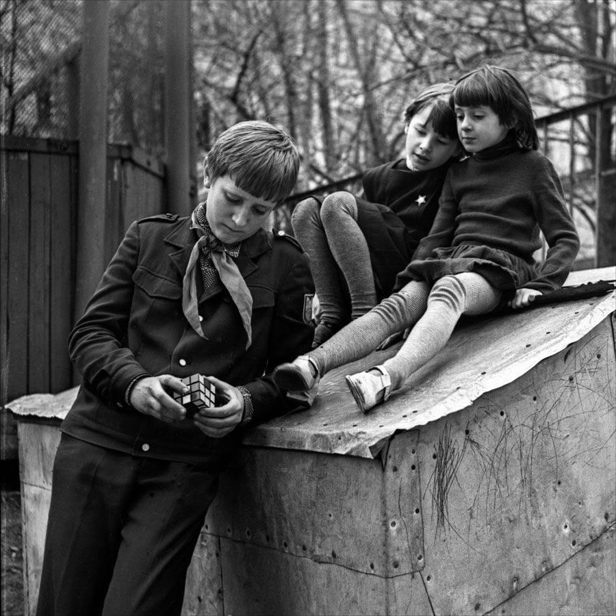 1981. После школы. Москва