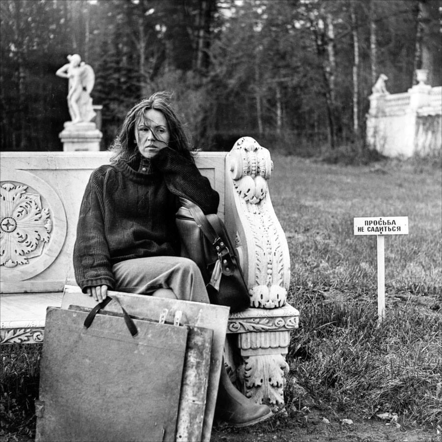 1982. На этюдах в Архангельском