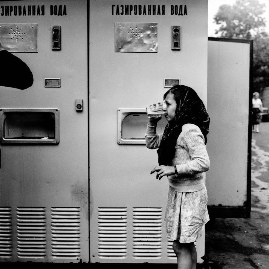 1983. Газировка с сиропом. Москва,
