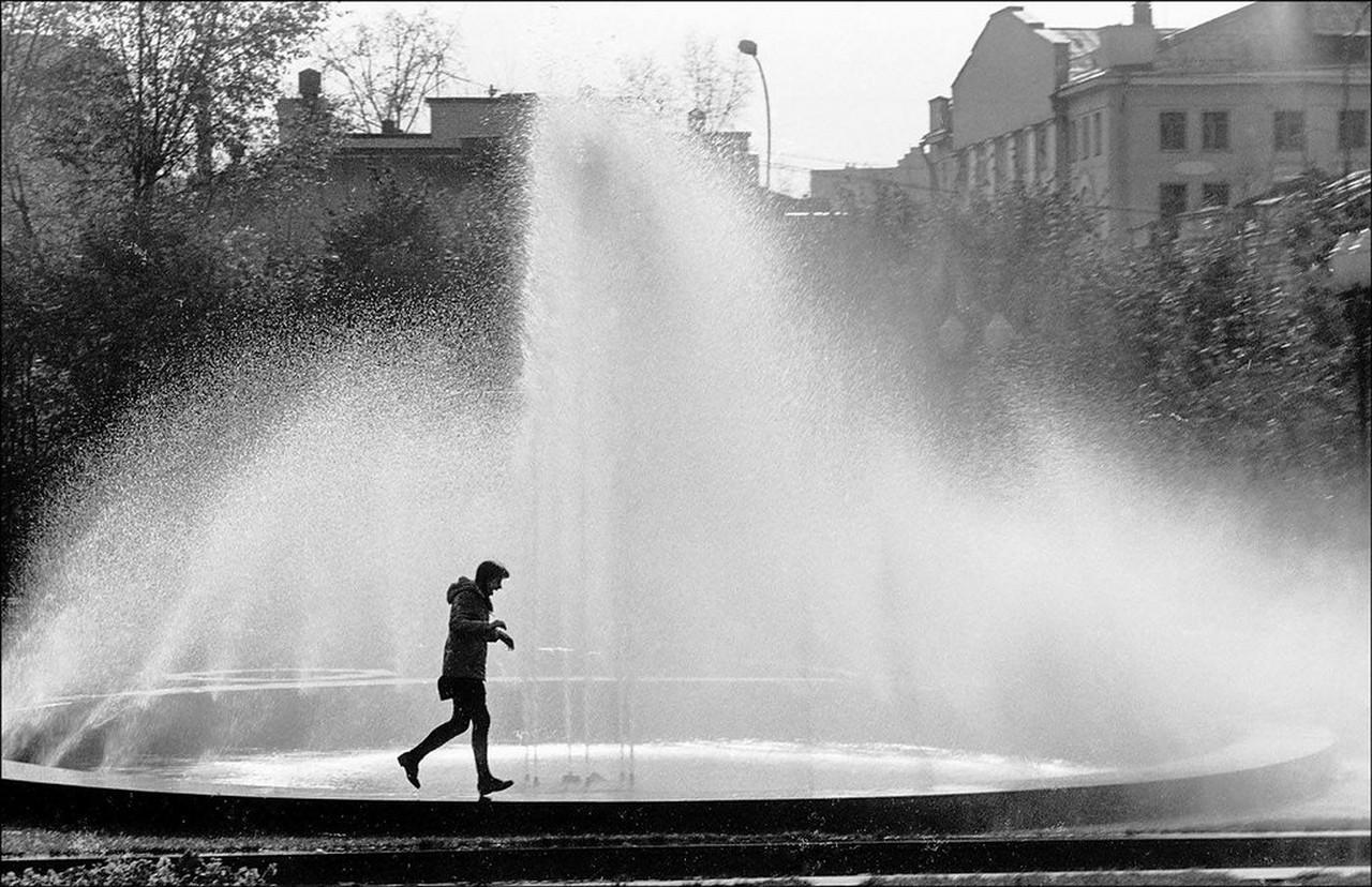 1984. Фонтан в Новопушкинском сквере