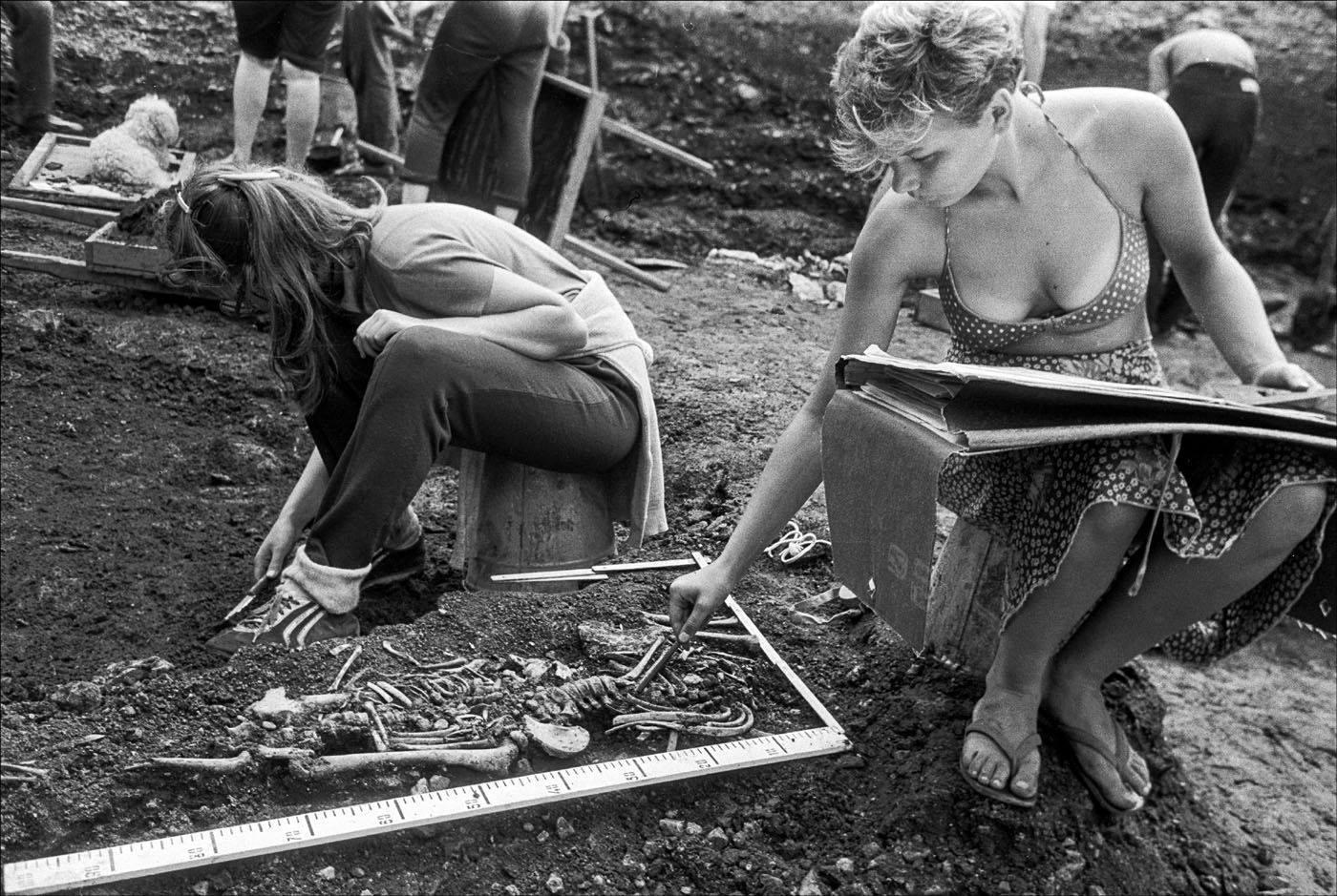 1985. Девушка и смерть. Псков