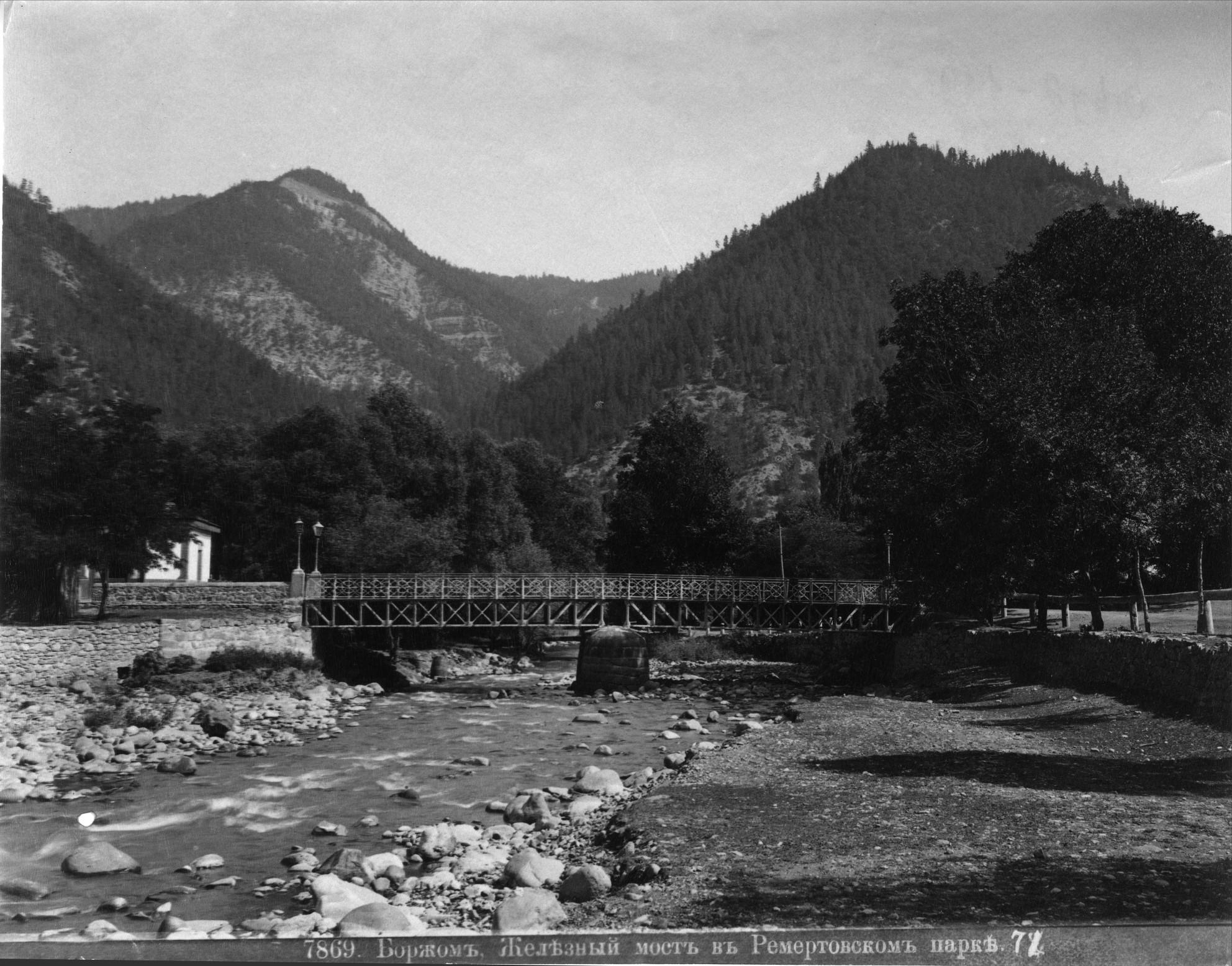 Железный мост в Ремертовском парке