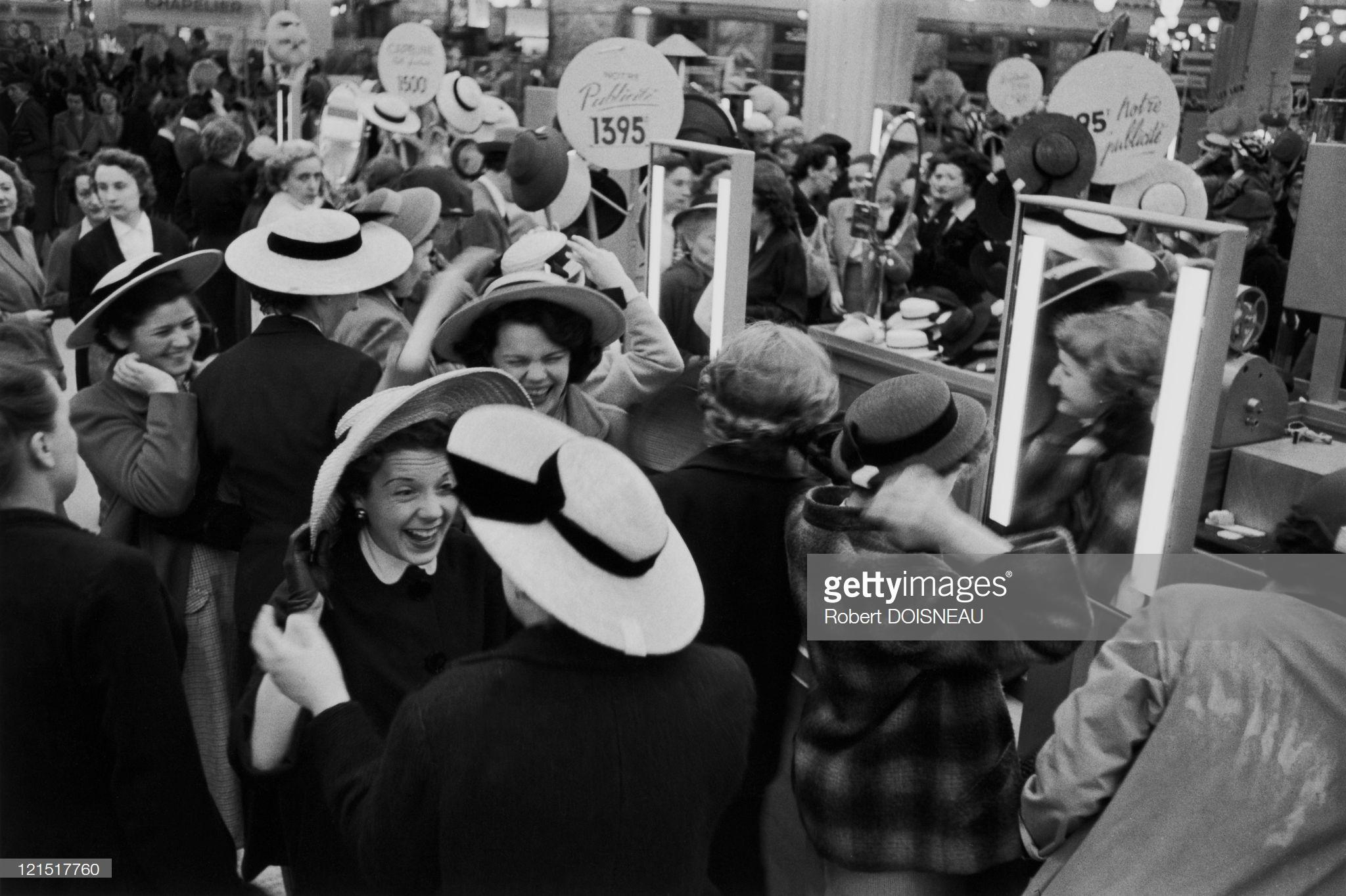 1950. Любительницы шляпок