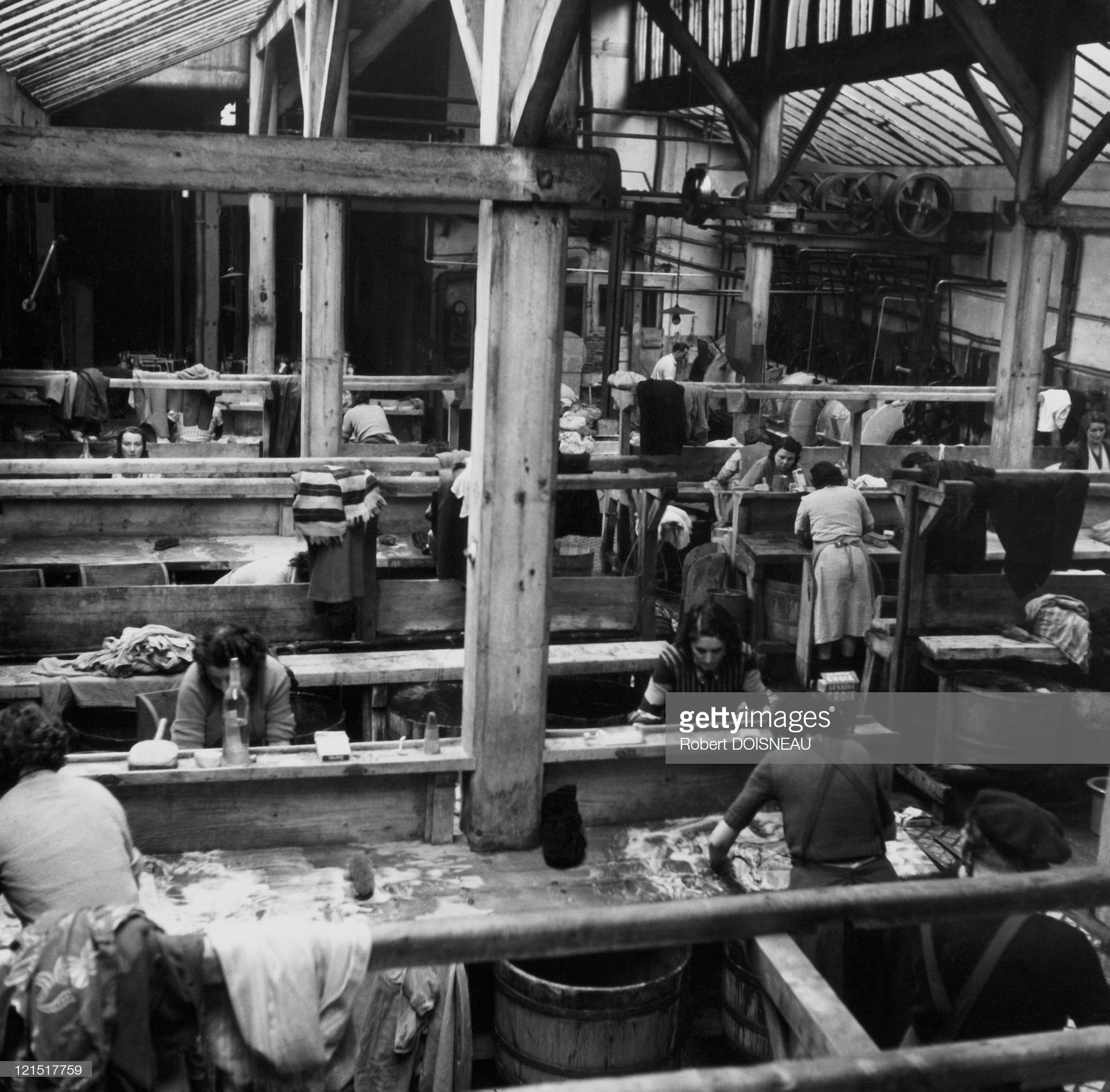 1953. Прачечная на улице Партан