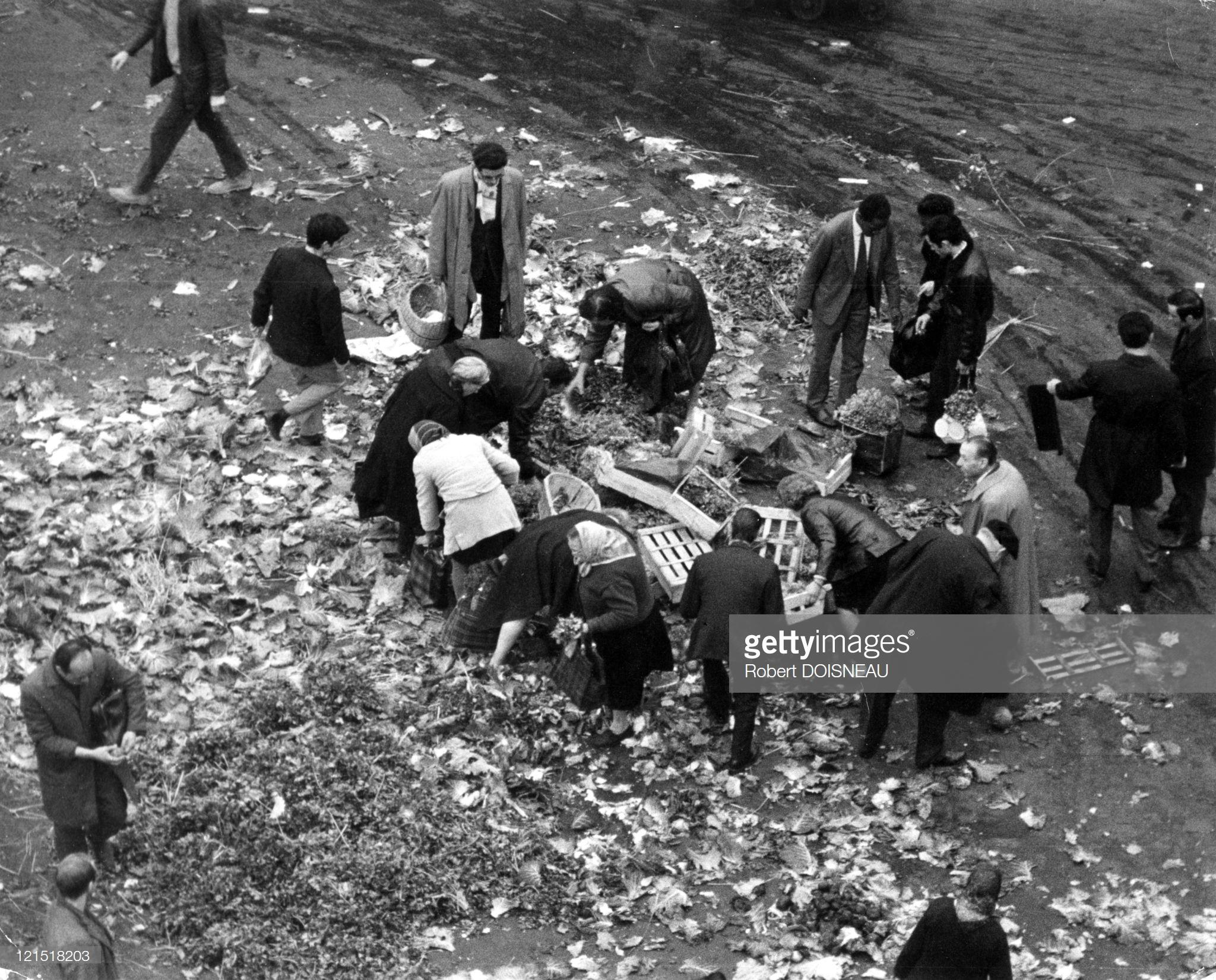 1967. Ле-Аль. Закрытие рынка