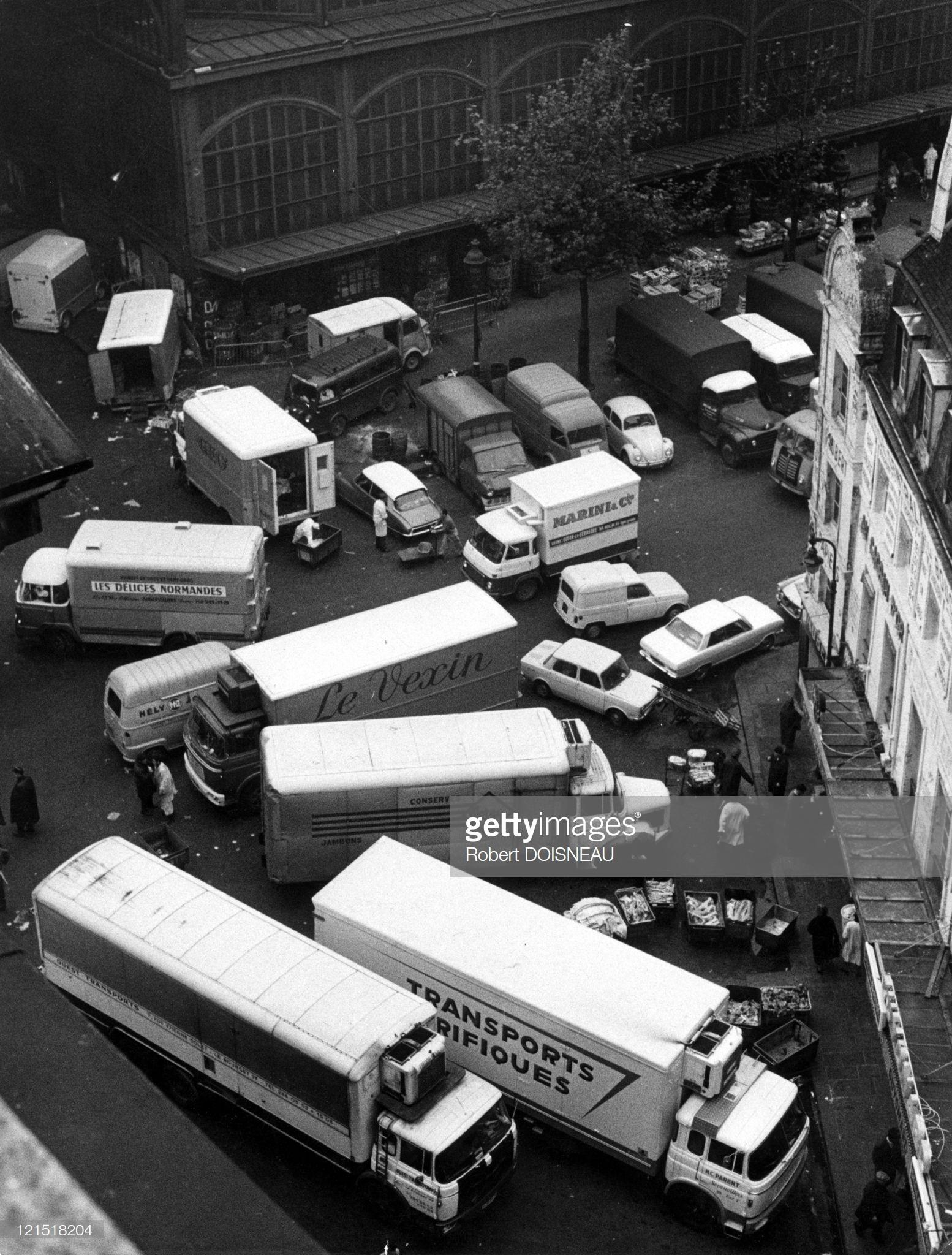 1967. Ле-Аль. Улица Жур