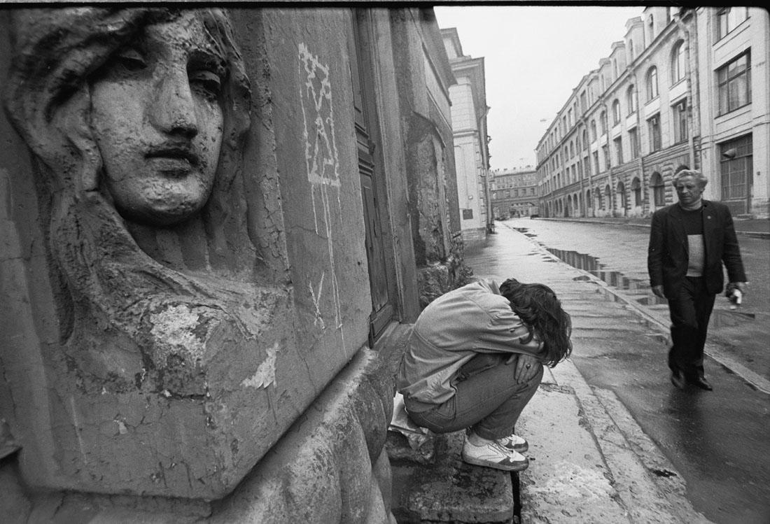 1991. Ленинград. Подросток.