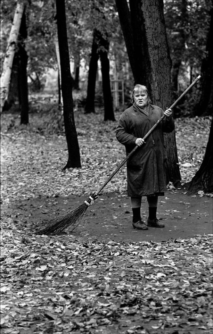 1992. Палая листва. Москва