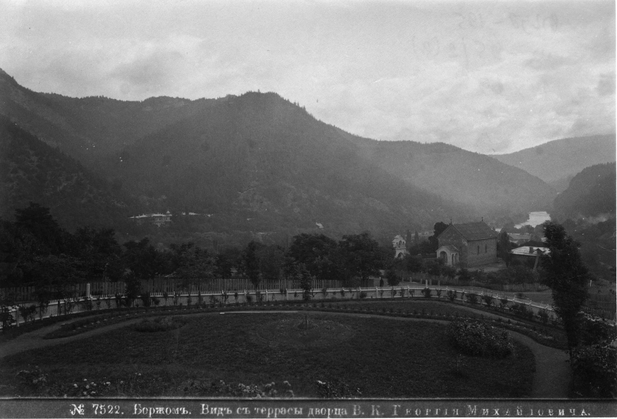 Вид с террасы дворца В. К. Георгия Михайловича