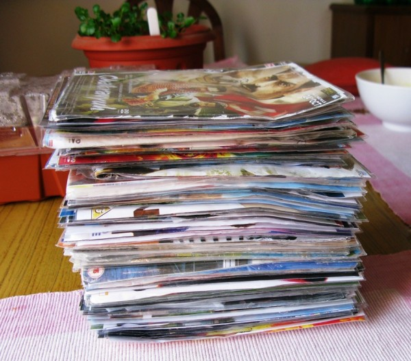 Pile Of Dvds