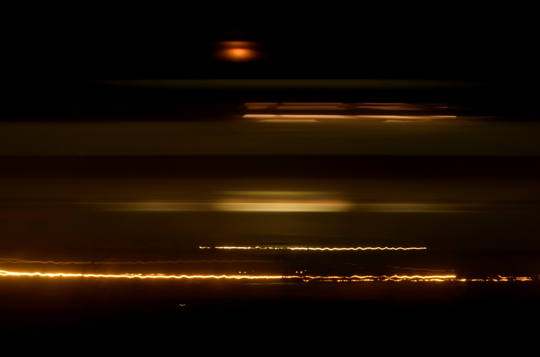 поезд за окном