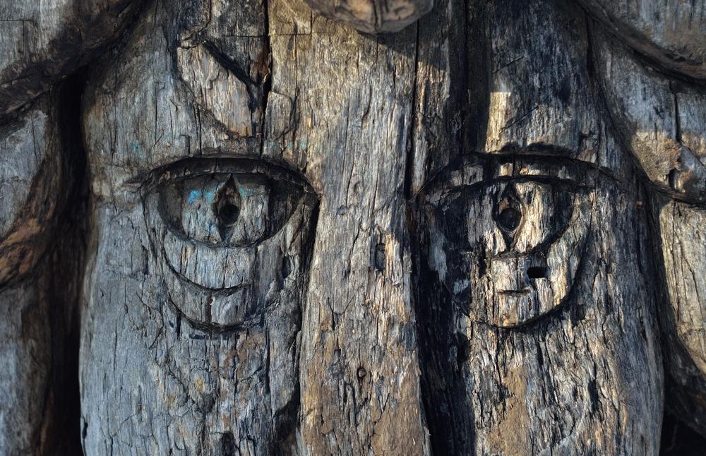 деревянные глаза